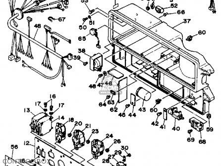 Yamaha EF5000E GENERATOR OHV parts lists and schematics