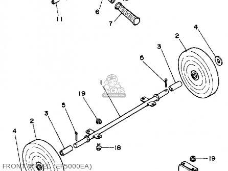 Yamaha Ef5000ea Ef6000ea Generator Ohv parts list
