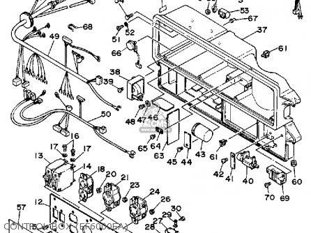 Yamaha Ef5000ea(ohv)/ef6000ea(ohv) Generator parts list