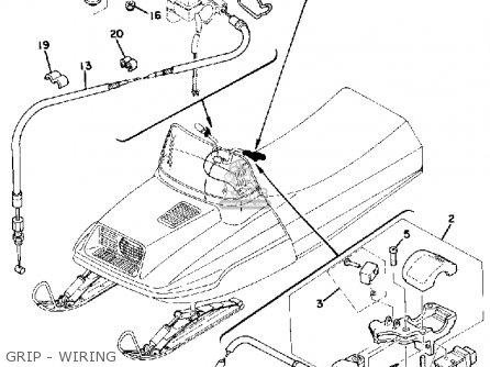 Yamaha ET250B 1978 parts lists and schematics