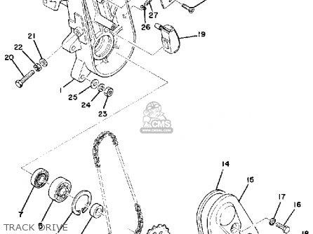 Yamaha Et250b 1978 parts list partsmanual partsfiche