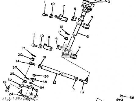 1989 Yamaha 250 Wiring Diagram Yamaha Ignition Diagram
