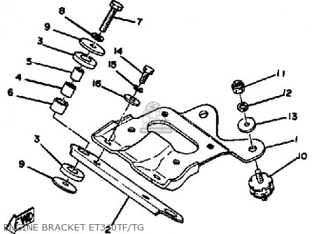 Wiring Harness Diagram 79 Yzf 250 Yamaha