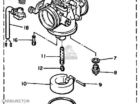 Yamaha ET340J ENTICER 1985 parts lists and schematics