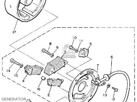 Yamaha Et340j Enticer 1985 parts list partsmanual partsfiche
