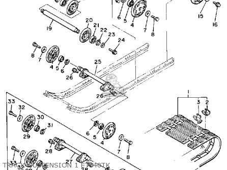 Wiring Diagram For 1978 Yamaha Enticer 340