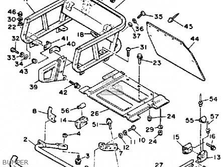 Yamaha ET400TRN ENTICER 1989 parts lists and schematics