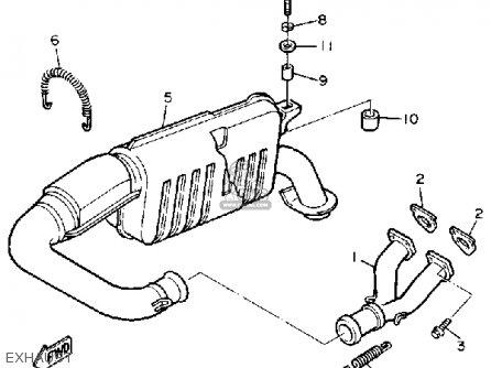 Yamaha ET410TRS ENTICER 1992 parts lists and schematics