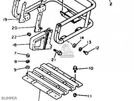 Yamaha Et410trt Enticer 1993 parts list partsmanual partsfiche