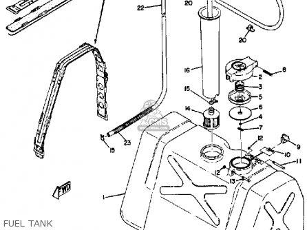 Yamaha Ew433b 1972 parts list partsmanual partsfiche