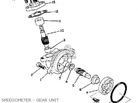 Yamaha EW643B SNOWMOBILE 1973 parts lists and schematics