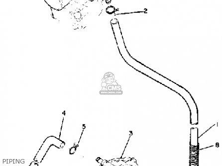 Yamaha EX440 1976/1977 parts lists and schematics