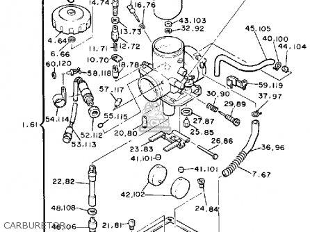 Yamaha EX570EM EXCITER 1988 parts lists and schematics