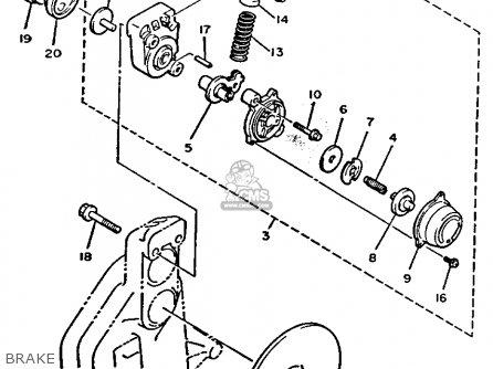 Yamaha Ex570er Exciter 1991 parts list partsmanual partsfiche