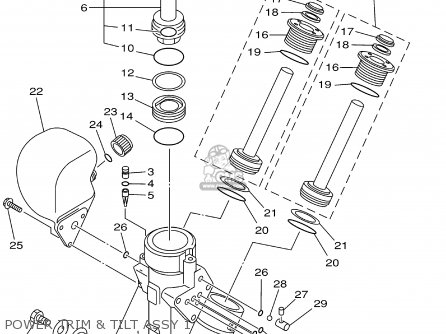 Yamaha F115tlra/txra/lf115txra 2002 parts list partsmanual