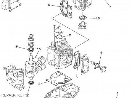 Yamaha F15MSHA/MLHA/ESHA/ELHA 2002 parts lists and schematics