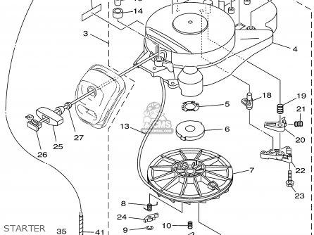 Yamaha F25MHA/EHA/ERA/TRA 2002 parts lists and schematics