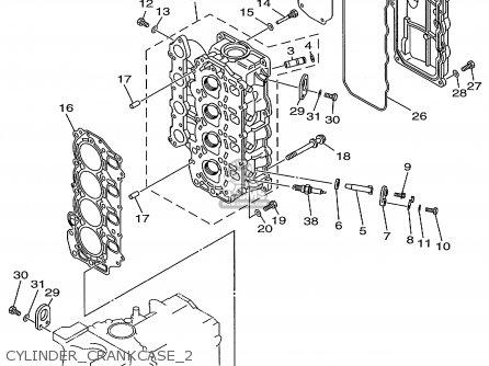 Yamaha F40/f50/t50trx 1999 parts list partsmanual partsfiche