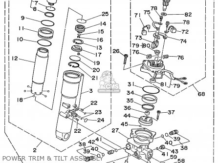 Yamaha F40/F50/T50TRX 1999 parts lists and schematics
