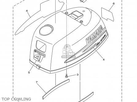 Yamaha F4MSHB/MLHB 2003 parts lists and schematics