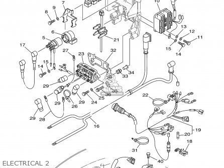 Yamaha F50/T50TLRY 2000 parts lists and schematics
