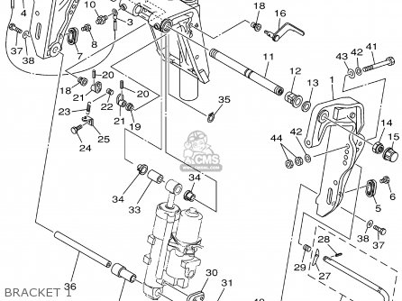 Yamaha F50TLRA/T50TLRA 2002 parts lists and schematics