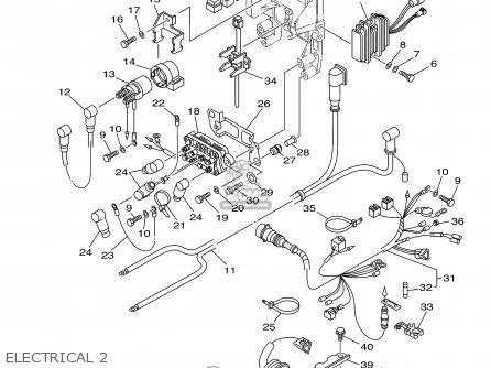 Yamaha F60tlra 2002 parts list partsmanual partsfiche