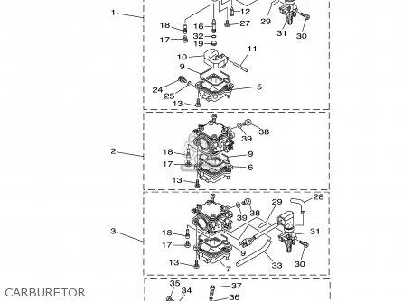 Yamaha F60tlrb/tjrb 2003 parts list partsmanual partsfiche