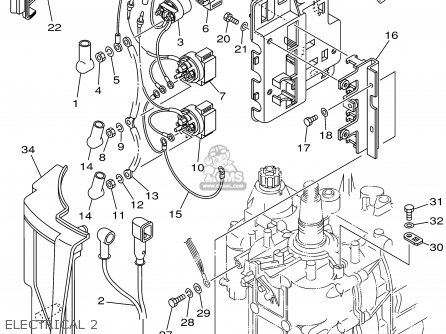 Yamaha F80/100TRX 1999 parts lists and schematics