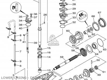 Yamaha F80/100trx 1999 parts list partsmanual partsfiche