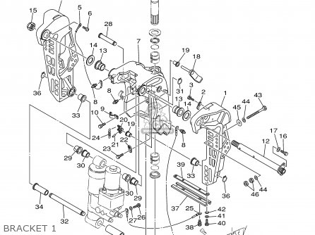 Yamaha F80/F100TLRY 2000 parts lists and schematics