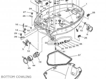 Yamaha F80/f100tlrz 2001 parts list partsmanual partsfiche