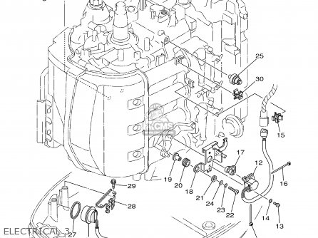 Yamaha F80/f100tlrz 2001 parts list partsmanual partsfiche