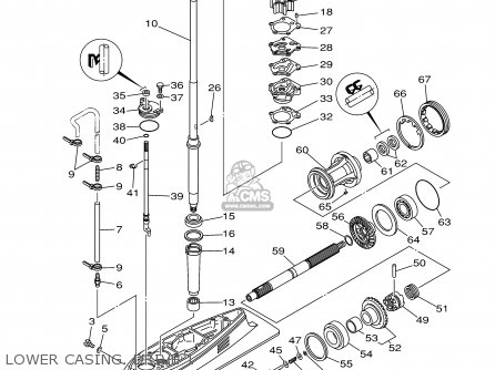 Yamaha F80/F100TLRZ 2001 parts lists and schematics