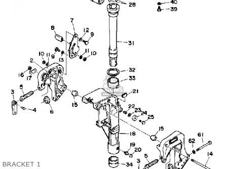 Yamaha F9.9F 1989 parts lists and schematics