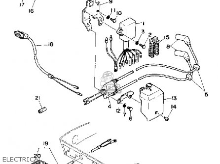 Yamaha F9.9F 1989 parts lists and schematics