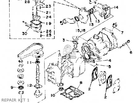 Yamaha F9.9f 1989 parts list partsmanual partsfiche