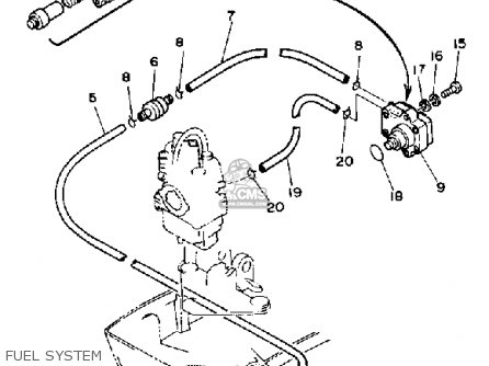 Yamaha F9.9G 1988 parts lists and schematics