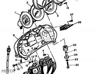 Yamaha FJ1100 1984 36Y EUROPE 2536Y-300E1 parts lists and