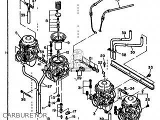Yamaha FJ1100 1985 36Z EUROPE 2536Y-300E1 parts lists and