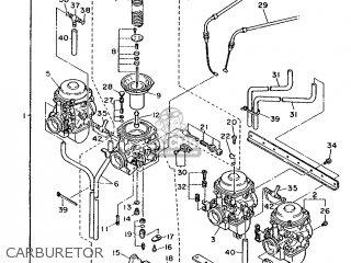 Yamaha Fj1200 1986 1tx England 261tx-310e2 parts list