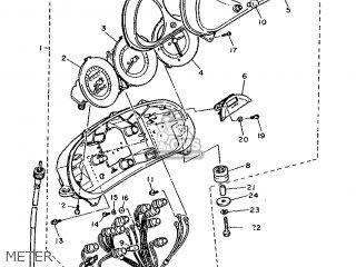 Yamaha FJ1200 1986 1TX ENGLAND 261TX-310E2 parts lists and