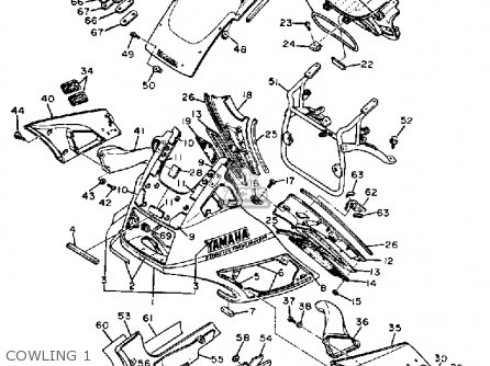 Yamaha Fj1200 1987 Usa parts list partsmanual partsfiche
