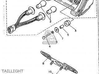 Yamaha FJ1200 1988 3CV1 EUROPE 283CV-300E1 parts lists and