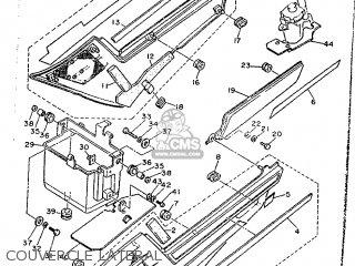 Yamaha FJ1200 1990 3CX2 FRANCE 203CX-351F1 parts lists and