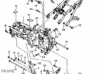 Yamaha FJ1200 1991 3YY1 FRANCE 213YY-351F1 parts lists and