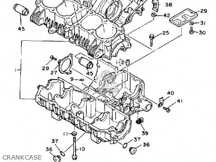 Yamaha Fj1200 1991 (m) Usa parts list partsmanual partsfiche