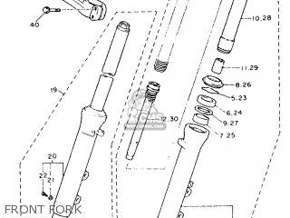 Yamaha FJ1200 1992 3YA3 GERMANY 223YA-332G1 parts lists