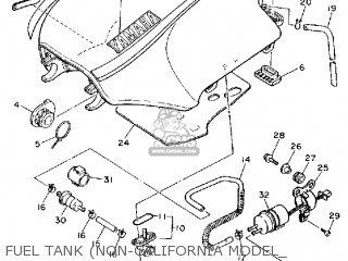 Yamaha Fj1200 1992 (n) Usa parts list partsmanual partsfiche