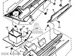 Yamaha Fj1200 1993 3xw8 Spain 233xw-352s1 parts list
